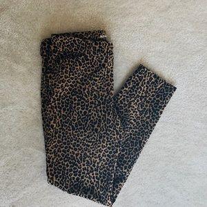 Old Navy Leopard Print Pants